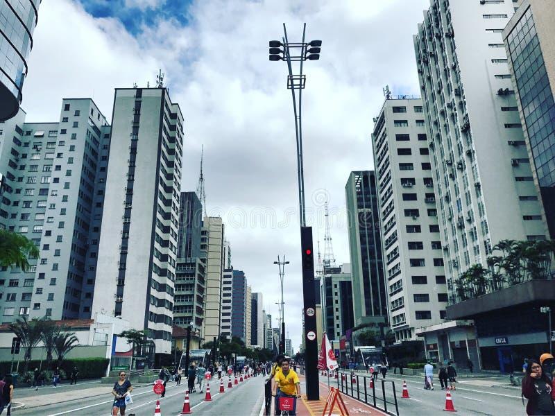 Sao Paulo royaltyfri foto