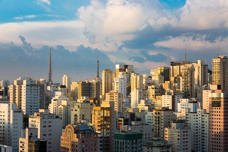 Sao Paulo, Brésil photo stock