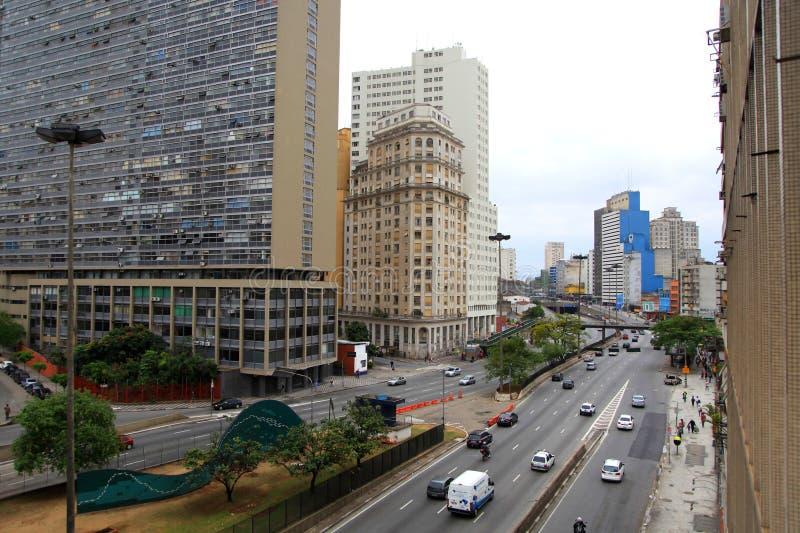 Sao Paulo, Brésil image libre de droits