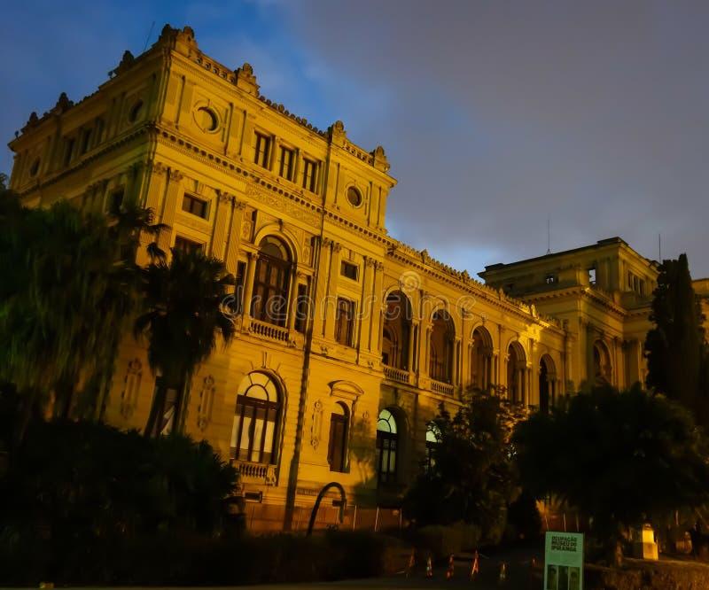 Sao Paulo/Brésil - juin 20 19 : Musée d'Ipiranga, palais historique photo libre de droits