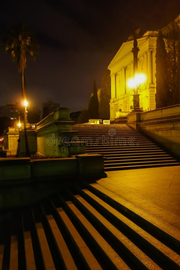 Sao Paulo/Brésil - juin 20 19 : Musée d'Ipiranga, palais historique photo stock