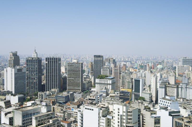 Sao Paulo Brazil Cityscape Skyline stock fotografie
