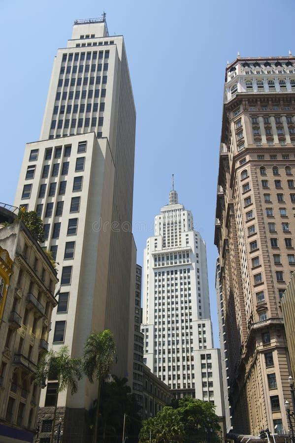 Sao Paulo Brazylia miasta linia horyzontu obraz royalty free