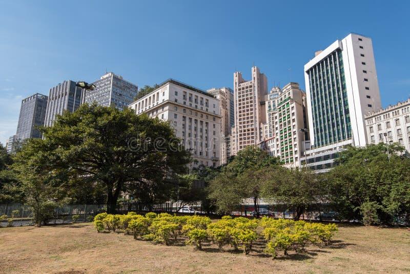 Sao Paulo Buildings foto de archivo libre de regalías