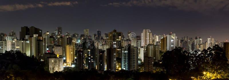 Sao Paulo City immagini stock libere da diritti