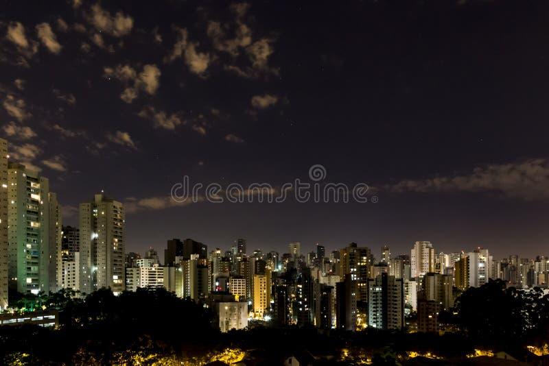 Sao Paulo City fotografia stock libera da diritti