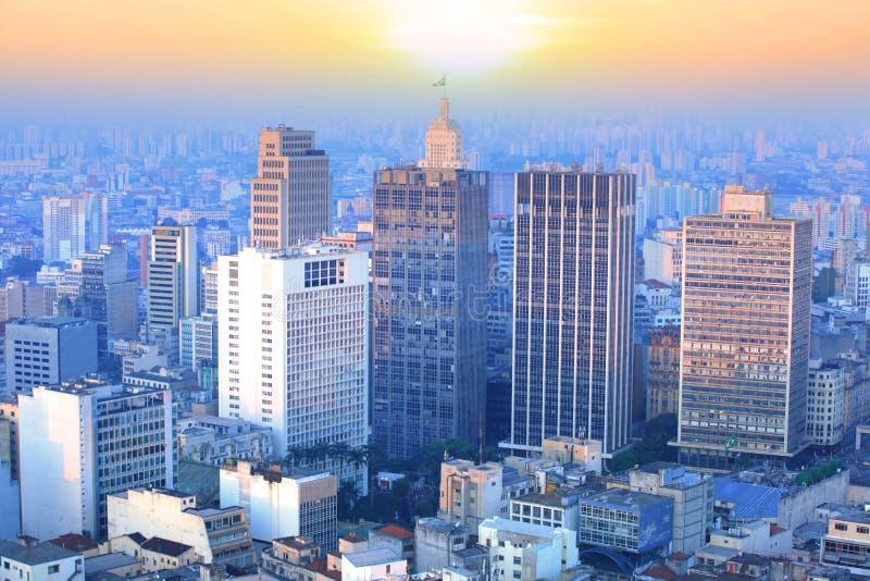 Sao Paulo cityscape royalty free stock photos