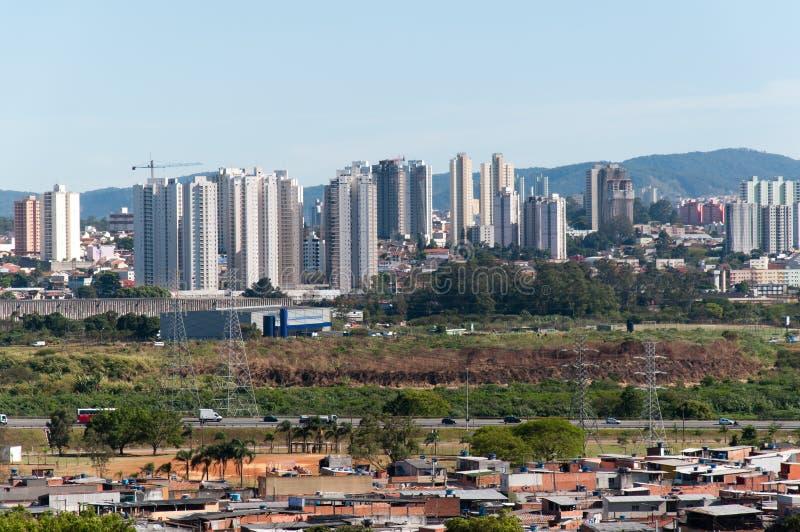 Sao Paulo e Guarulhos foto de stock royalty free
