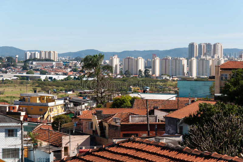 Sao Paulo e Guarulhos imagens de stock