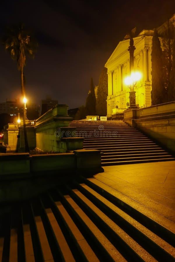Sao Paulo/el Brasil - junio 20 19: Museo de Ipiranga, palacio histórico foto de archivo