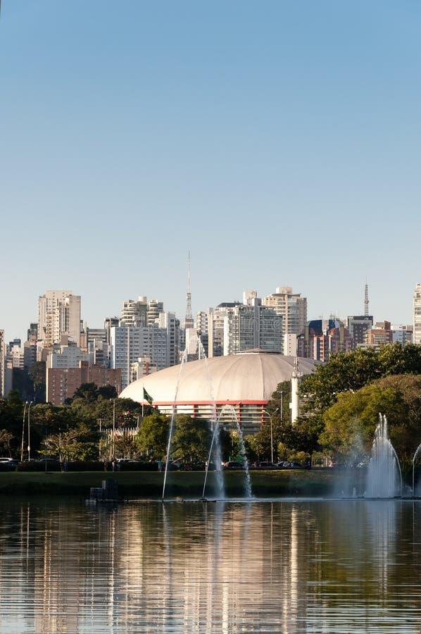Download Sao Paulo, Ibirapuera Park stock image. Image of nature - 33266381