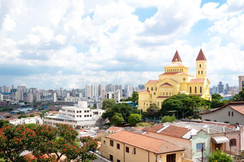 Sao Paulo, Penha royalty-vrije stock foto's
