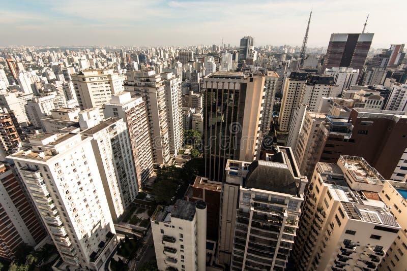 Sao Paulo Residential Buildings stock photo