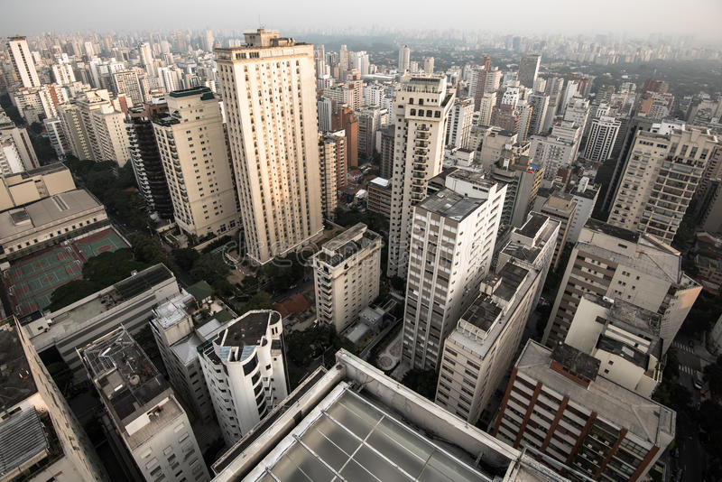 Sao Paulo Residential Buildings stock images