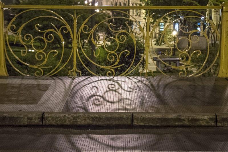 Santa Ifigenia Viaduct stock photography