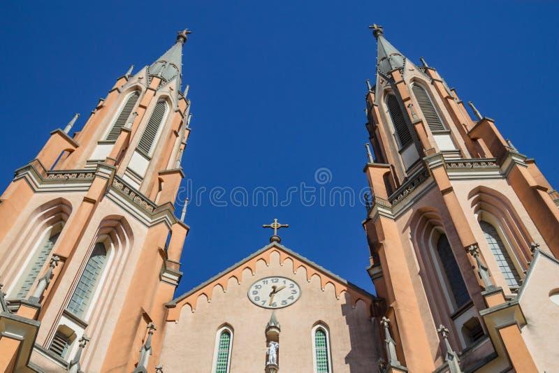 Sao Sebastiao Martir Church royaltyfri fotografi
