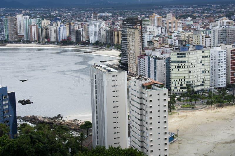 Sao Vicente beach town royalty free stock image