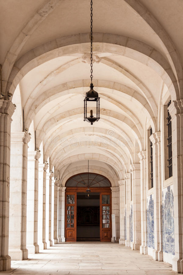Free Sao Vicente De Fora Architectural Details In Lisbon, Portugal Stock Photography - 54368972