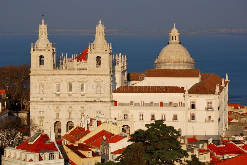 Sao Vicente de Fora, Lisbon stock image