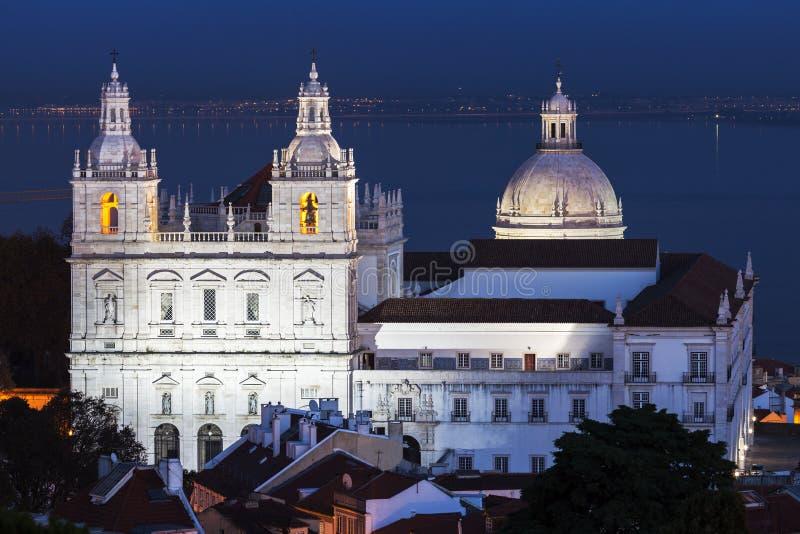 Sao Vicente de Fora Monastery imágenes de archivo libres de regalías