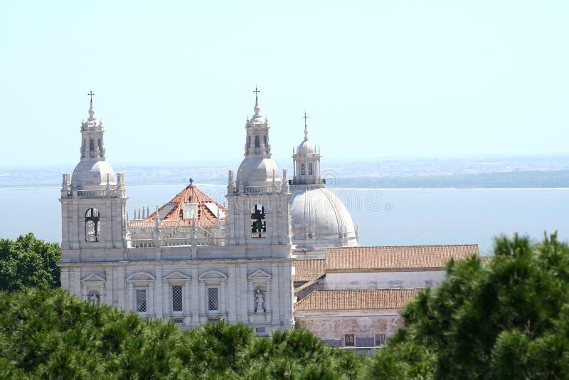 Sao Vicente De Fora Monastery en Lisboa fotos de archivo
