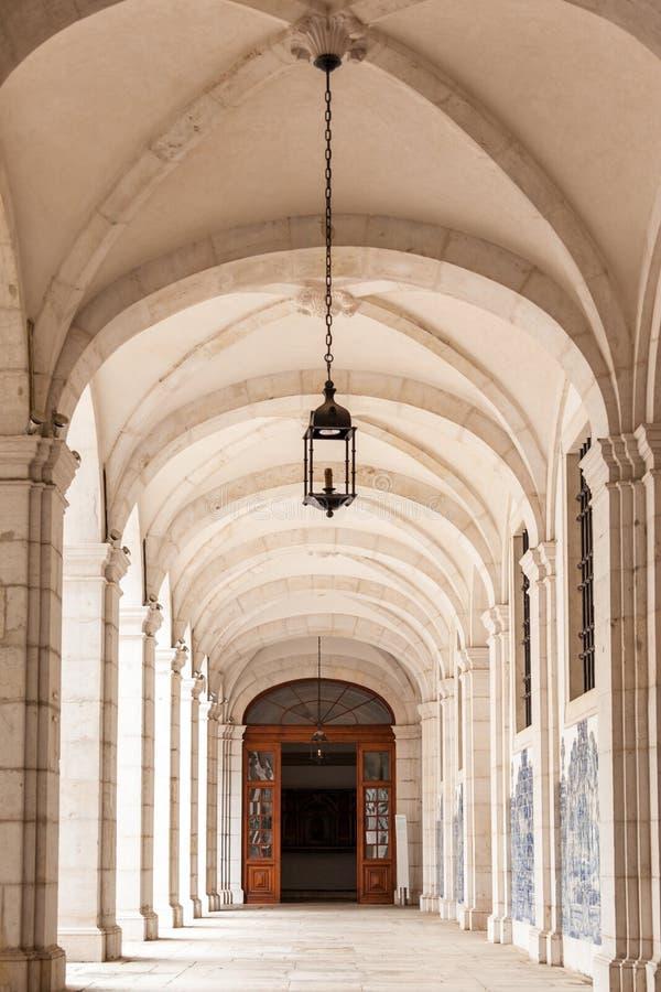 Sao vicente de para detalles arquitectónicos en Lisboa, Portugal imagenes de archivo