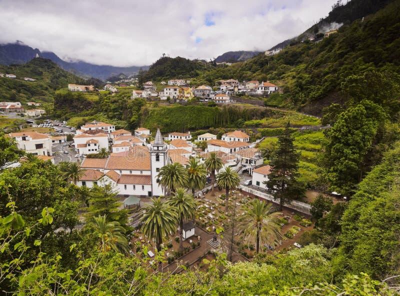Sao Vicente sur la Madère photos libres de droits