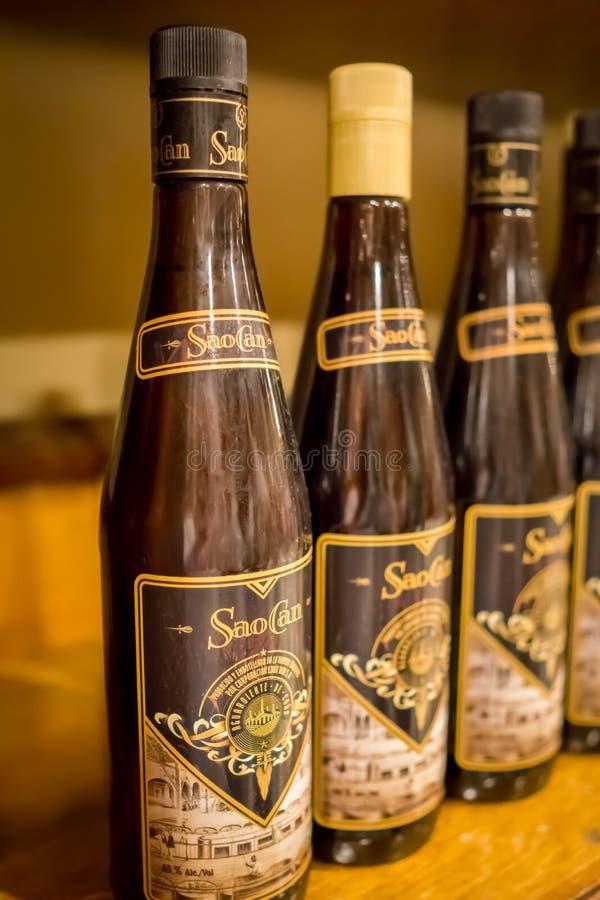 SaoCan-Rum an der Havana-Rumfabrik lizenzfreie stockfotos