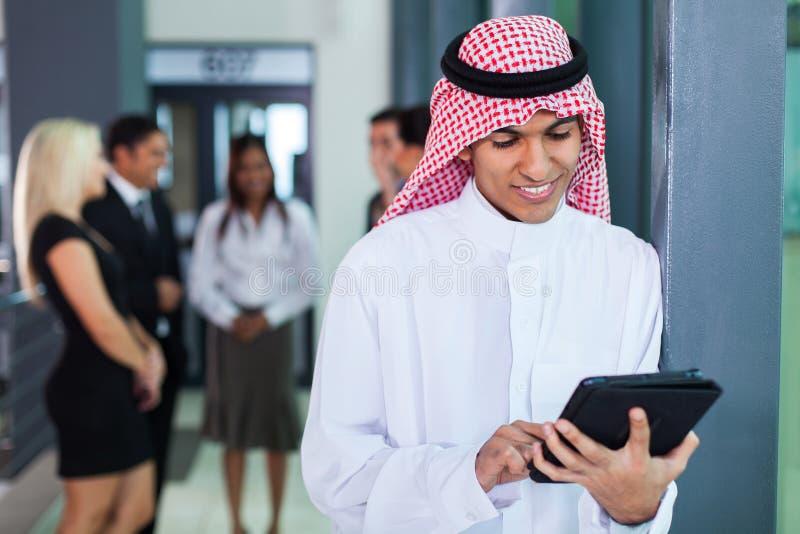 Saoediger - Arabische zakenman royalty-vrije stock afbeelding