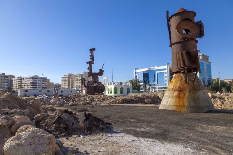 Saoediger, Jeddah 2 de Oude stad van December 2018 in Jeddah, Oude die stad in Jeddah, Saudi-Arabië als 'Historische Jeddah 'word stock foto