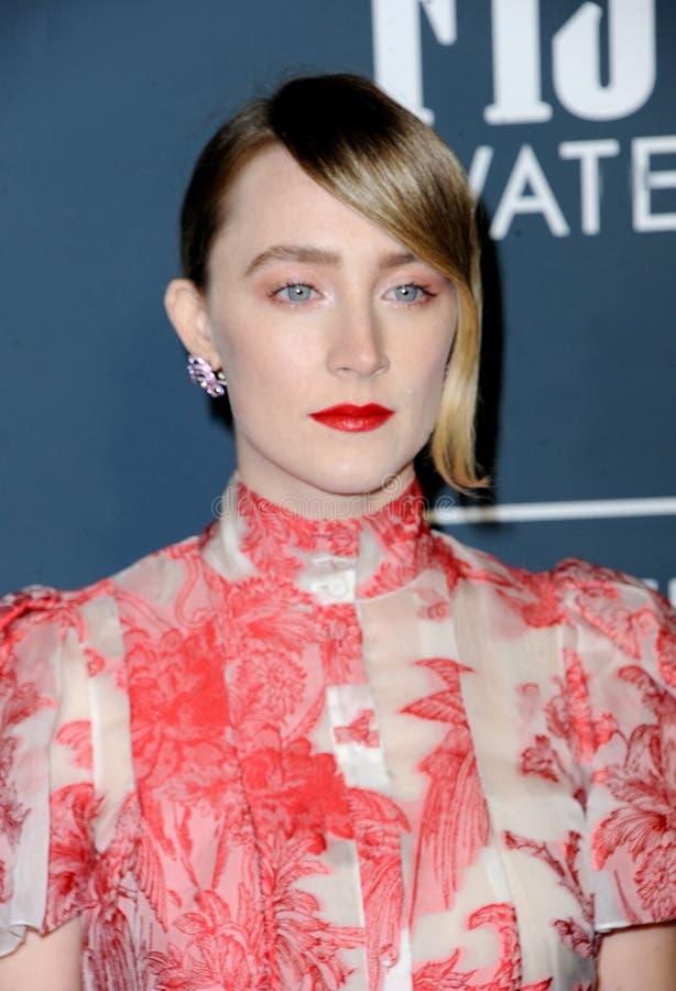 Saoirse Ronan royalty free stock photo