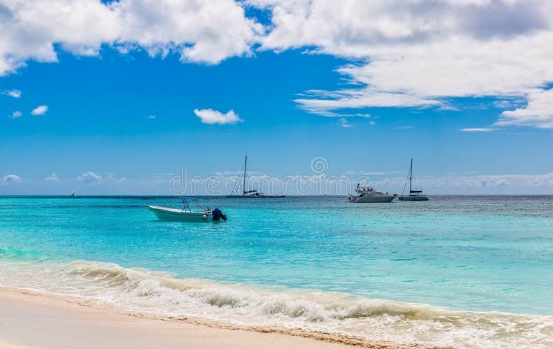 Saona island. In the Dominican Republic royalty free stock photos