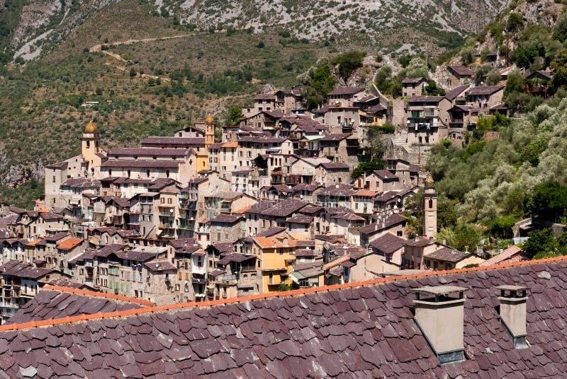 Download Saorge by, Frankrike arkivfoto. Bild av berg, sten, liggande - 27286460