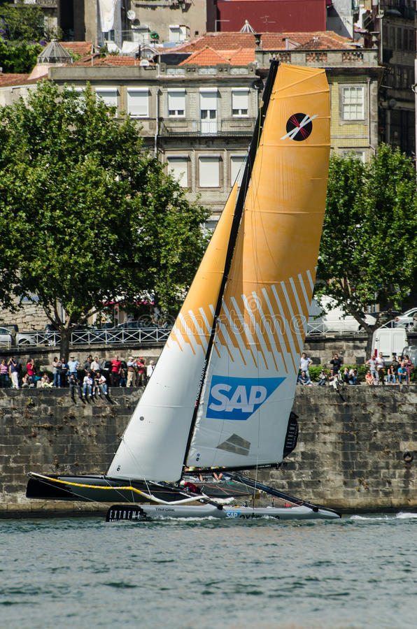 Download SAP Extreme Sailing Team Compete Editorial Image - Image of navigating, boating: 25609915