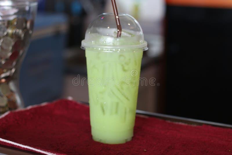 Sap in het glas verse drank van Thailand royalty-vrije stock foto's