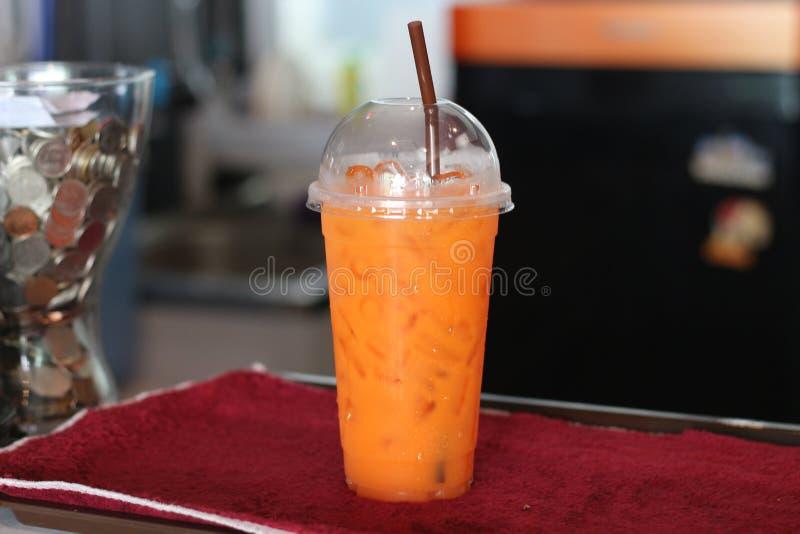 Sap in het glas verse drank van Thailand stock foto's