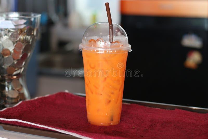 Sap in het glas verse drank van Thailand stock afbeelding
