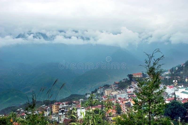 Download Sapa immagine stock. Immagine di altopiano, nube, terrazzi - 3893379