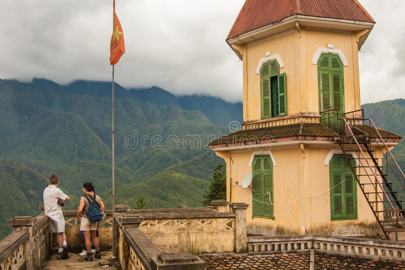 Sapa, Lao Cai Province, Vietnam royalty-vrije stock foto's