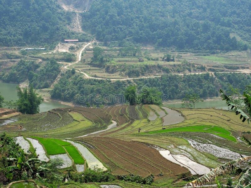 Sapa, Lao Cai, Vietnam stock afbeelding