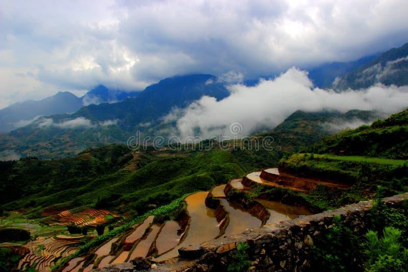 Sapa - Viet Nam fotos de archivo