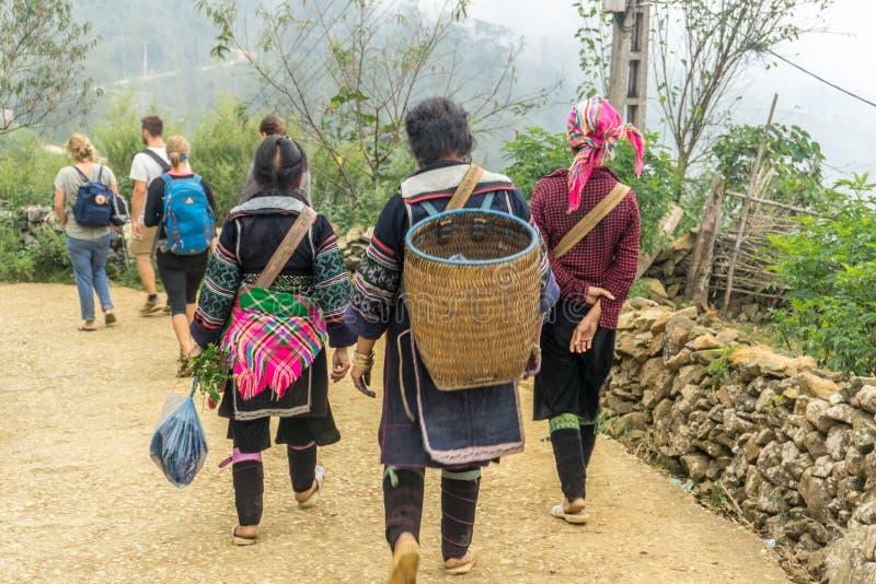 Sapa, Vietnam royalty-vrije stock fotografie