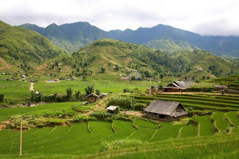 Sapa, Vietnam imagem de stock