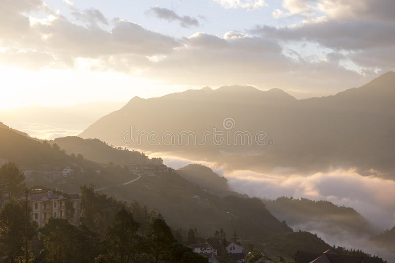Sapa View stock images