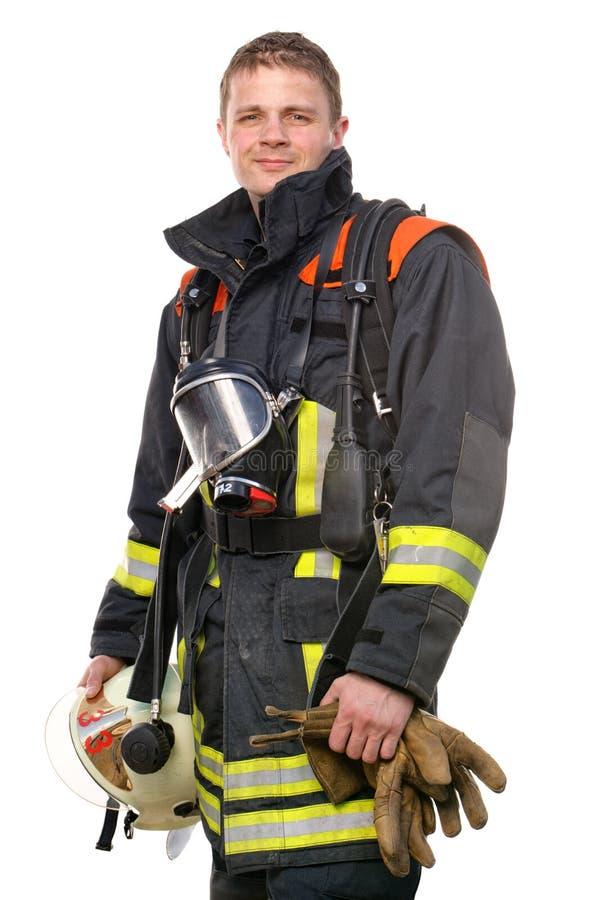 Sapador-bombeiro fotografia de stock