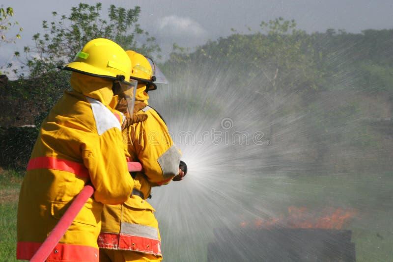 Sapadores-bombeiros fotografia de stock