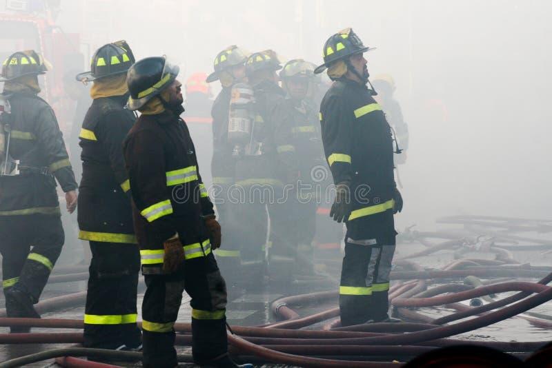 Sapadores-bombeiros Imagem Editorial