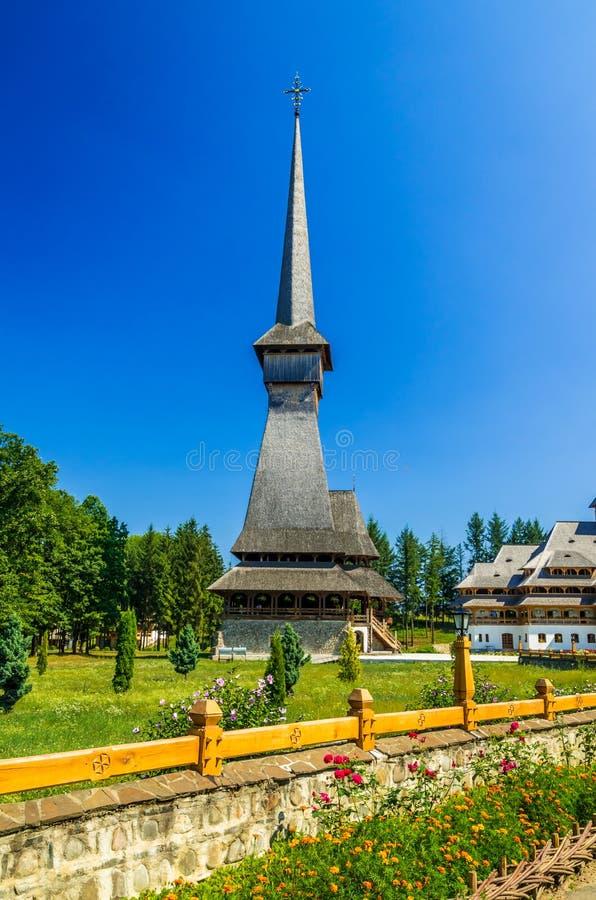 从Sapanta,罗马尼亚的仙子修道院 库存照片