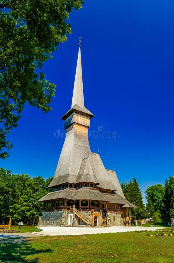 从Sapanta,罗马尼亚的仙子修道院 库存图片