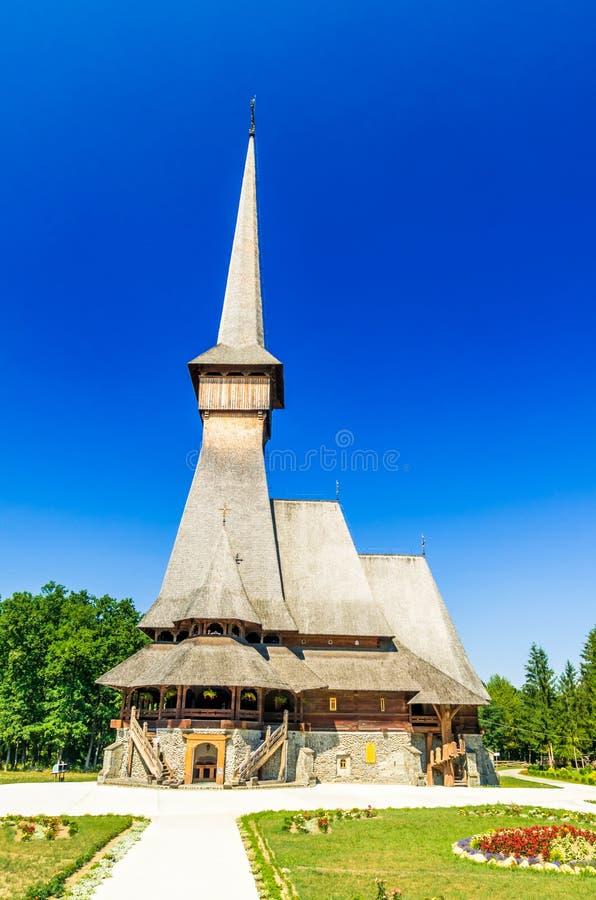 从Sapanta,罗马尼亚的仙子修道院 图库摄影